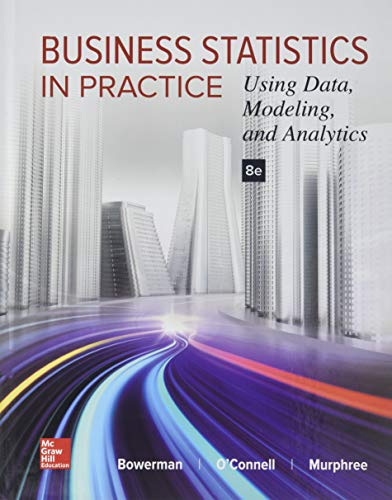 9781259253324: Business Statistics in Practice: Using Data, Modeling, and Analytics