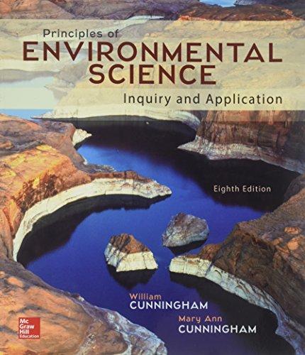 Principles of environmental science: Cunningham, William/Cunningham, Mary