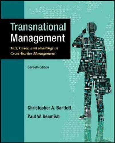 9781259253768: Transnational Management: Text, Cases and Readings in Cross-Border Management (Int'l Ed)