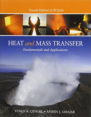 9781259253775: Heat and Mass Transfer (in SI Units)