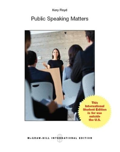 9781259253911: Create Only Public Speaking Matters
