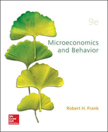 9781259253935: Microecomics and Behavior (Int'l Ed)