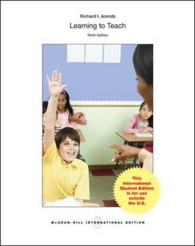 9781259254253: Learning to Teach (Int'l Ed) (College Ie Overruns)