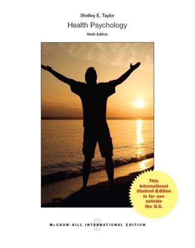 9781259254284: Health Psychology (Int'l Ed)