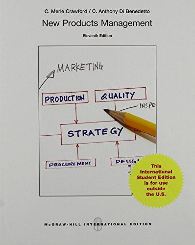 9781259254345: New Products Management (Int'l Ed) (College Ie Overruns)