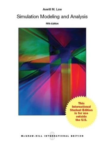 9781259254383: Simulation Modeling and Analysis (Int'l Ed)