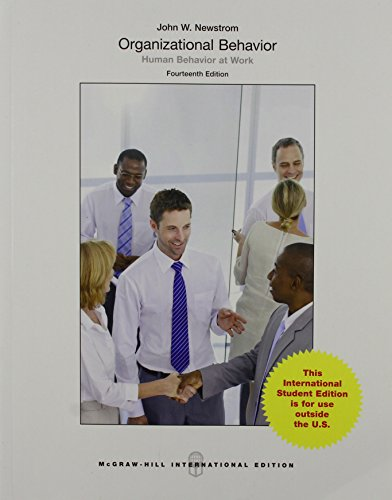 9781259254420: Organizational Behavior: Human Behavior at Work (Int'l Ed)
