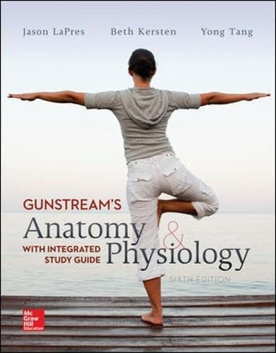 9781259254475: Anatomy and Physiology with Integrated Study Guide