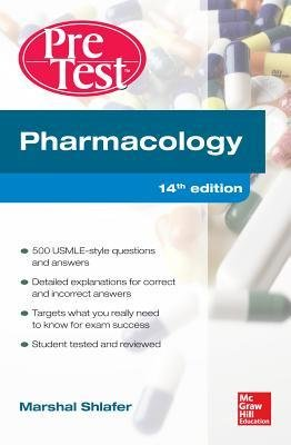9781259254543: Pharmacology PreTest Self-Assessment and Review