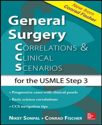 9781259254628: GENERAL SURGERY : CORRELATIONS & CLINICAL SCENARIOS FOR THE USMLE STEP 3