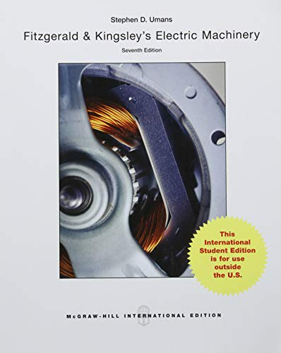 9781259254666: Fitzgerald & Kingsley's Electric Machinery