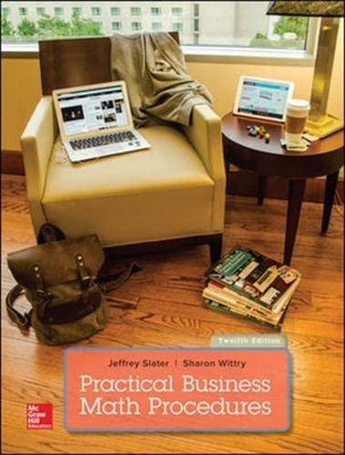 9781259254871: PRACTICAL BUSINESS MATH PROCEDURES WITH BUSINESS MATH HANDBOOK