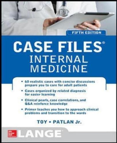 9781259255373: Case Files Internal Medicine, Fifth Edition