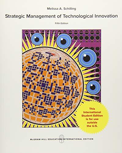 9781259255526: Strategic management of technological innovation