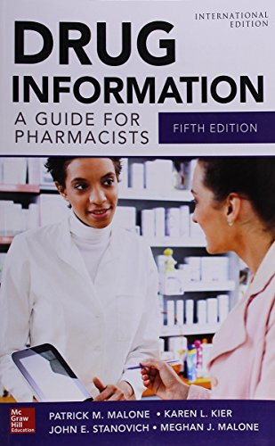 9781259255557: Drug Information A Guide For Pharmacists (Ie).