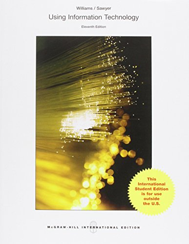 9781259255663: Using Information Technology 11e (Int'l Ed)