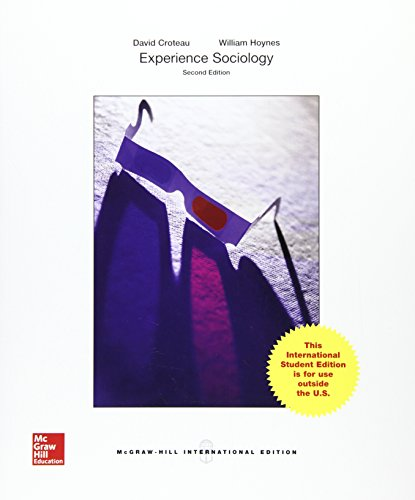 9781259255717: Experience Sociology (Int'l Ed) (College Ie Overruns)