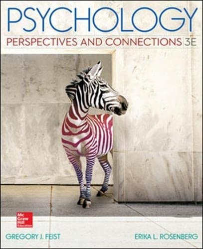 9781259255755: Psychology: Perspectives and Connections (Int'l Ed)