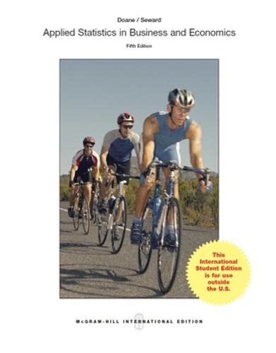 9781259255885: Applied Statistics in Business and Economics