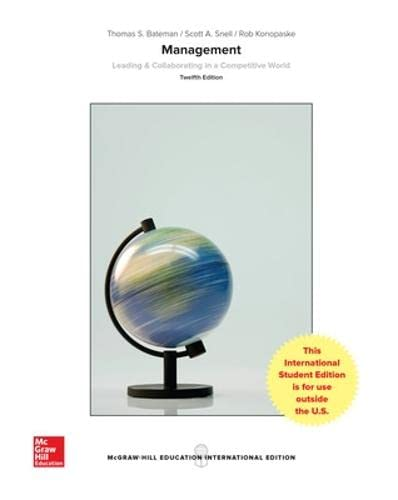 9781259255892: ISE MANAGEMENT: LEADING & COLLABORATING IN A COMPETITIVE WORLD