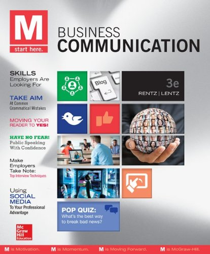 9781259276576: M: Business Communication with Connect Plus