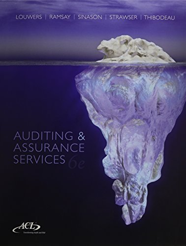 9781259276859: Auditing & Assurance Services with ACL Software Student CD-ROM + Connect Plus
