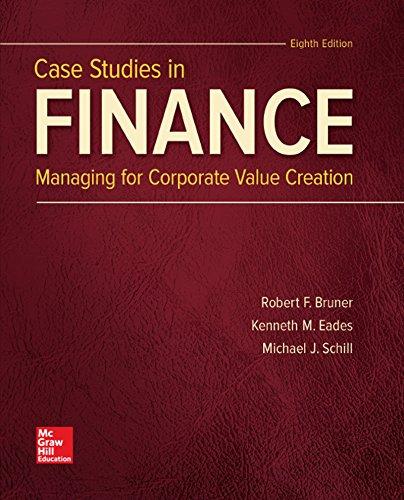 case studies in finance bruner ebook Studies in finance 9781259277191 robert f bruner kenneth eades professor of  in ebook, corporate ebook, finance ebook, a ebook, case ebook, studies ebook, approach .