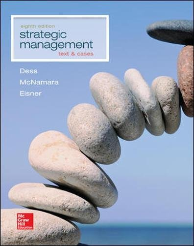 9781259278211: Strategic Management: Text and Cases (Irwin Management)