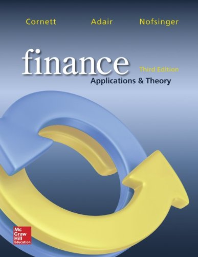 9781259279119: Finance: Applications and Theory with Connect Access Card