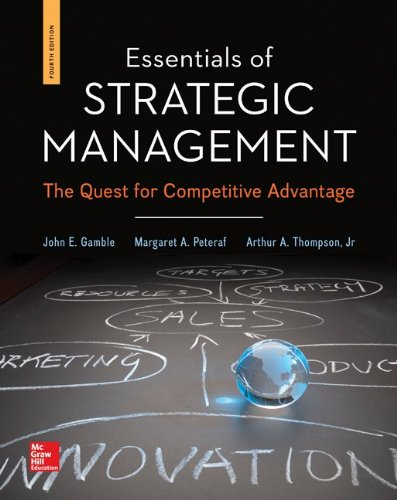 9781259280627: Essentials of Strategic Management with Connect Plus Access Code: The Quest for Competitive Advantage