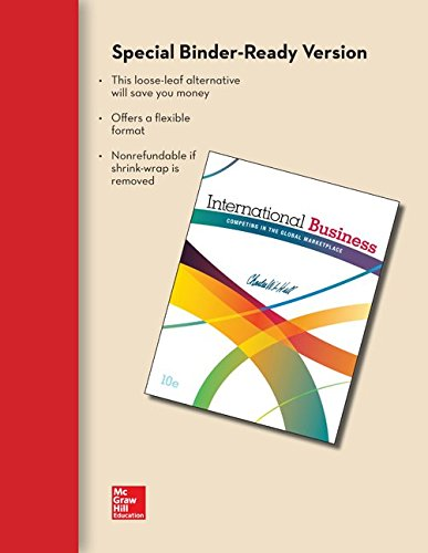 LL International Business with Connect Access Card and CESIM Access Cards: Hill, Charles W. L.