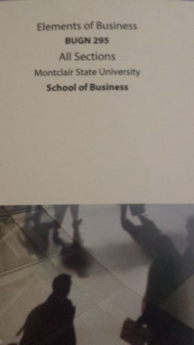 9781259281976: Elements of Business Bugn 295