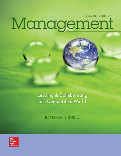 9781259282546: Management: Leading & Collaborating in the Competitive World with Connect Plus
