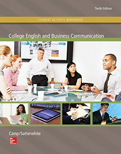 9781259282645: College English and Business Communication with Student Activity Workbook and Media Ops Setup ISBN