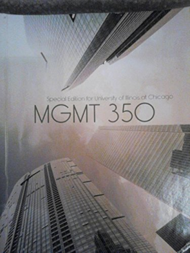 9781259284083: Mgmt 350 Special Edition for University of Illinos At Chicago 10th Edition