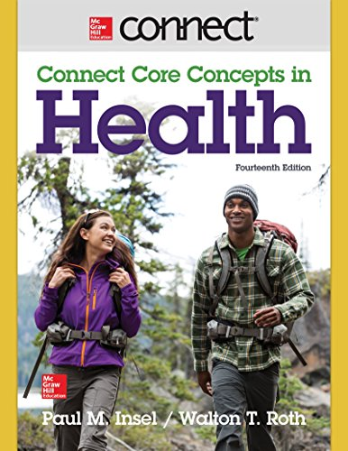 9781259284342: Connect Access Card for Core Concepts in Health BIG