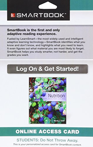 9781259284601: SmartBook Access Card for Nutrition for Healthy Living