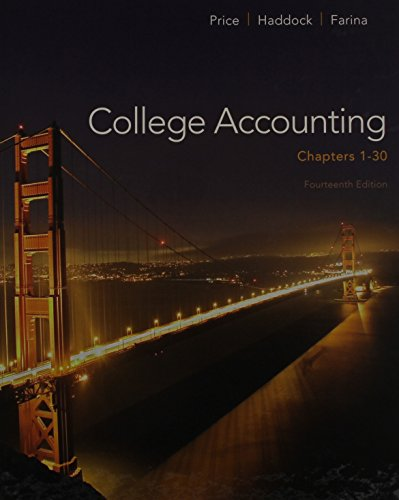 9781259284861: College Accounting ( Chapters 1-30) with Connect Plus