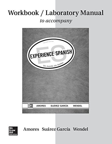 9781259285462: Workbook/Lab Manual for Experience Spanish