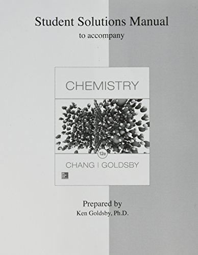9781259286223: Student Solutions Manual for Chemistry