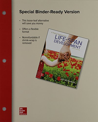 9781259286476: Loose Leaf for A Topical Approach to Life-Span Development