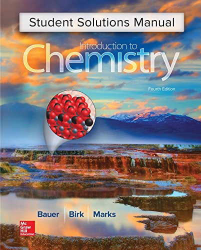 9781259287398: Student Solutions Manual for Introduction to Chemistry