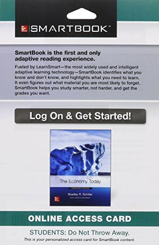 9781259287763: SmartBook Access Card for The Economy Today