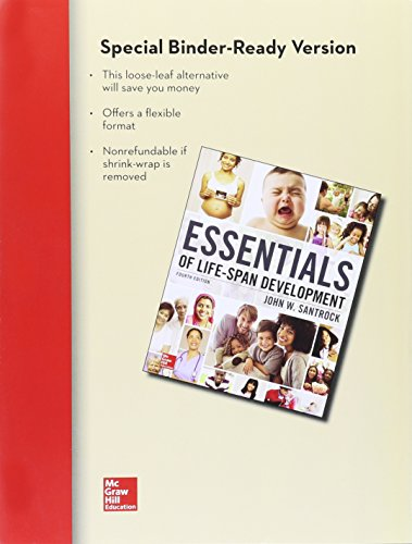 9781259288845: Looseleaf for Essentials of Life-Span Development