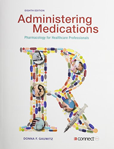 9781259288913: Administering Medications with Connect Plus Access Card