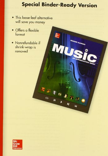 9781259288920: LOOSELEAF MUSIC: AN APPRECIATION BRIEF WITH CONNECT PLUS 1 TERM ACCESS CARD