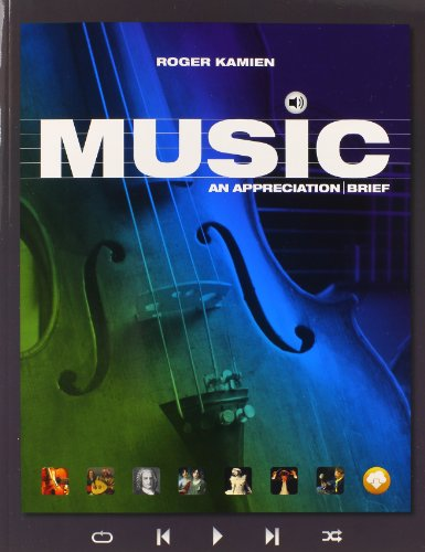 9781259288937: MUSIC: AN APPRECIATION BRIEF WITH CONNECT PLUS W/LEARNSMART 1 TERM ACCESS CARD