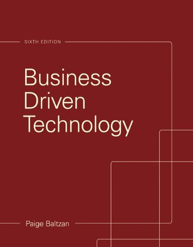 9781259289866: Business Driven Technology with Connect Access Card