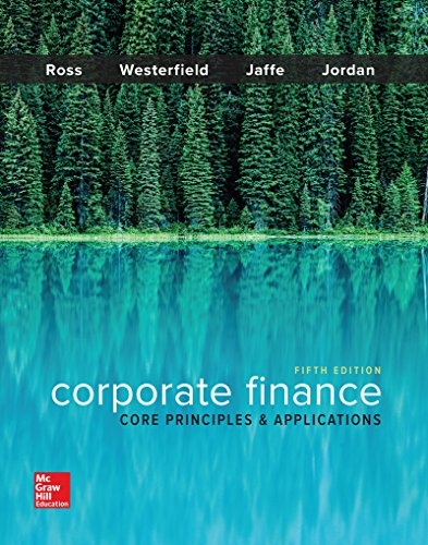 corporate finance core principles and applications View test prep - test bank for corporate finance core principles and applications 3rd edition ross, westerfield, jaff from dsfs sdf at uc davis full file at https.