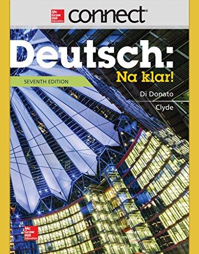 9781259290862: Connect Access Card for Deutsch: Na klar!